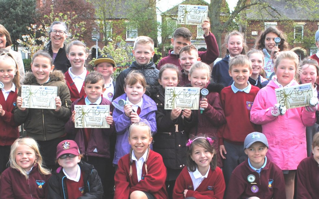 Water saving kits and tips presented to pupils in Boston – and could be yours too