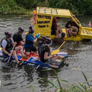 Call for volunteer marshals for Deepings Raft Race