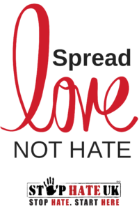Supporting the #SpreadLoveNotHate message for Hate Crime Awareness Week