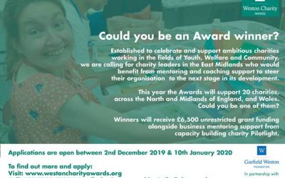 Could you be a Weston Charity Awards winner?