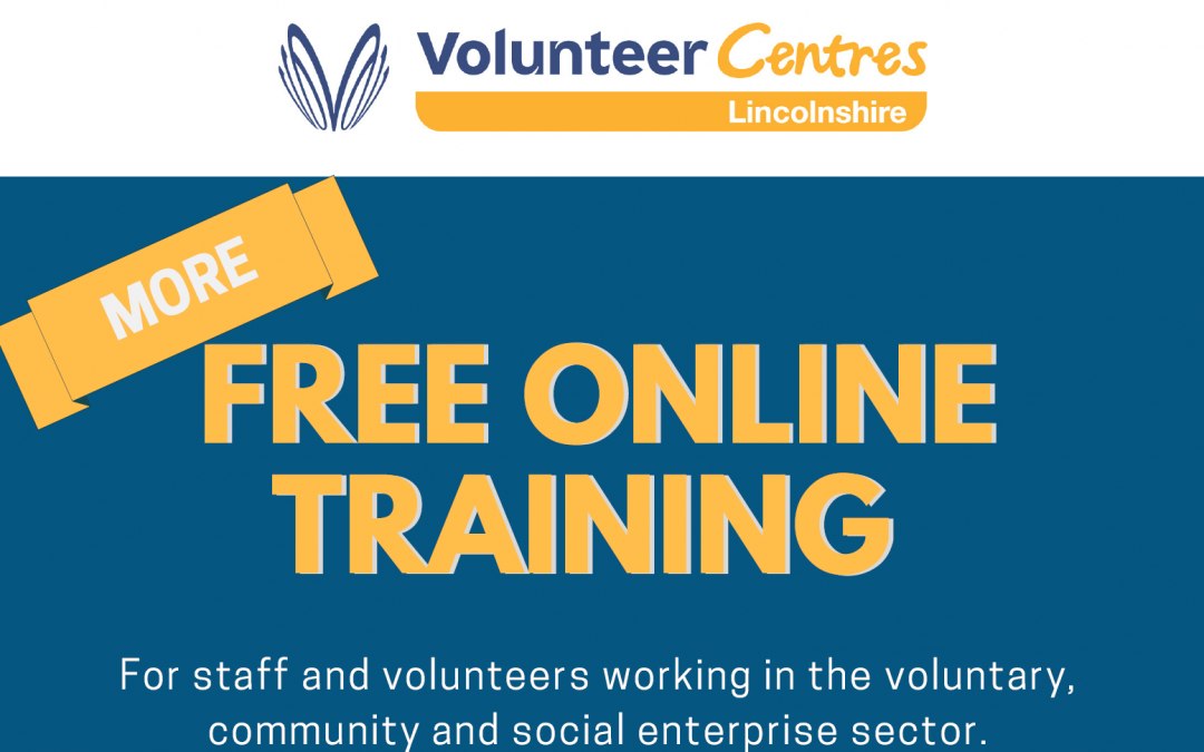 Free online training for community and voluntary groups