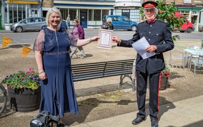 Congratulations Lynnette Pryke for achieving the High Sheriff's Reward