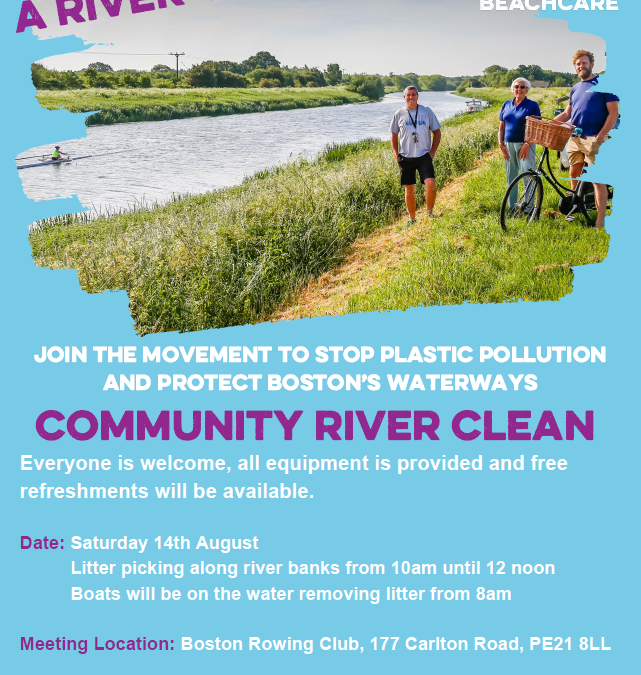 Helpers needed for river clean