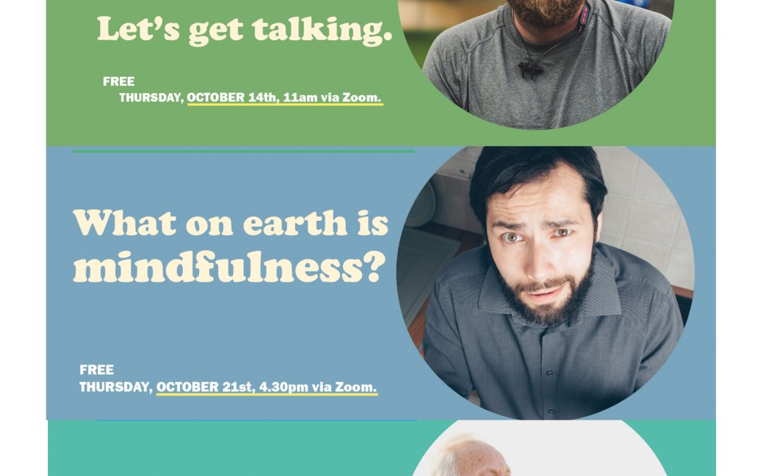 A BETTER WAY Suicide Prevention and MensCraft men's mental health webinars launch this October!